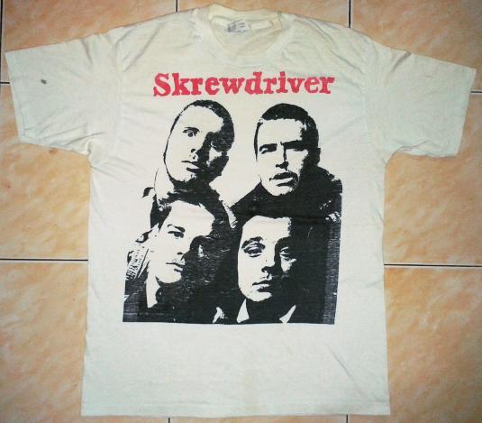 Pit Crew Shirts >> VINTAGE SKREWDRIVER T-SHIRT