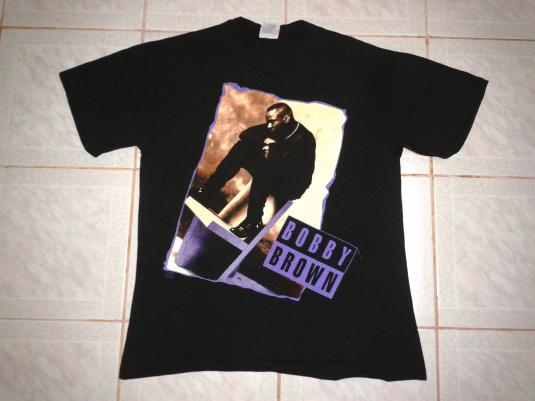 Pit Crew Shirts >> VINTAGE BOBBY BROWN - HUMPIN\'N AROUND TOUR T-SHIRT