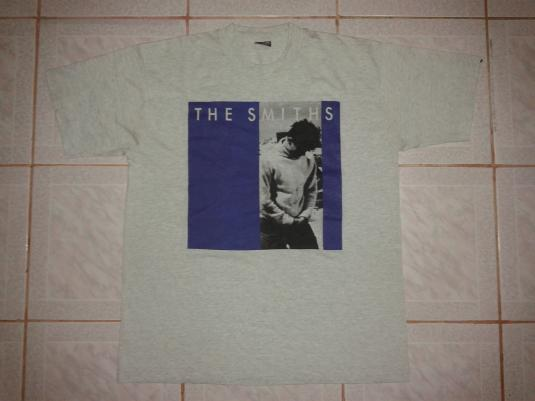 vintage the smiths how soon is now t shirt. Black Bedroom Furniture Sets. Home Design Ideas