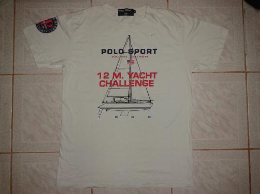 a7a34153 VINTAGE 1996 RALPH LAUREN POLO SPORT - YACTH T-SHIRT
