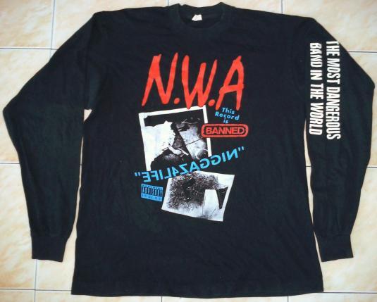Vintage N W A Niggaz4life T Shirt