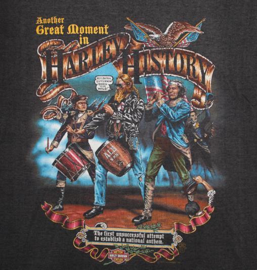 Vintage Harley Davidson Holubek T Shirt Original 80s Tee M