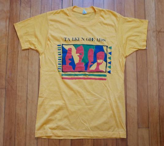 Vintage 80s concert t-shirts apologise
