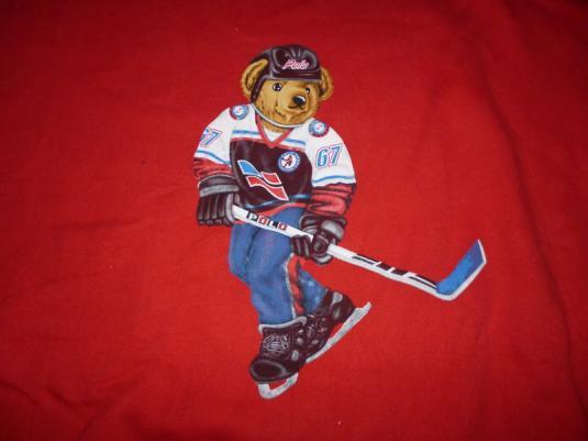 Vintage Polo Bear Hockey Ralph Lauren Sweatshirt