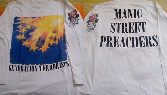 manic street preachers generation terrorists