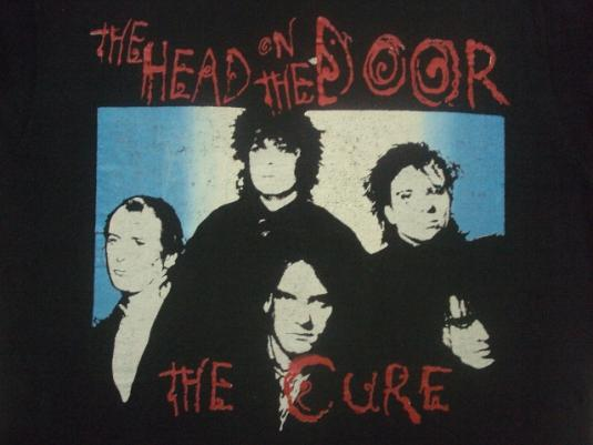 Vintage The Cure 1985 The Head On The Door