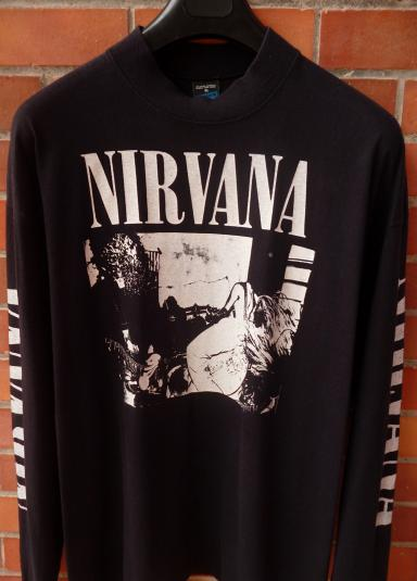 vintage 1989 nirvana bleach t shirt. Black Bedroom Furniture Sets. Home Design Ideas