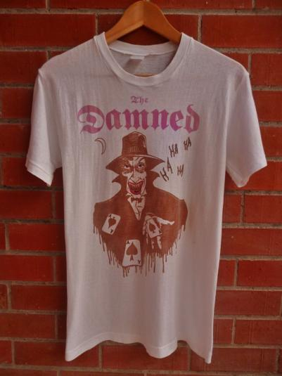 For Sell By Owner >> VINTAGE 80S THE DAMNED T-SHIRT