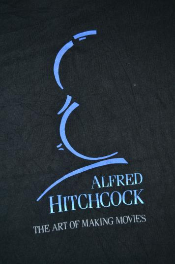 Pit Crew Shirts >> Vintage ALFRED HITCHCOCK The Art of Making Movies T-shirt