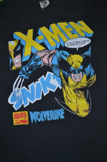 Monster Trucks For Sale >> Vintage 90s X-MEN WOLVERINE Marvel Comics T-shirt