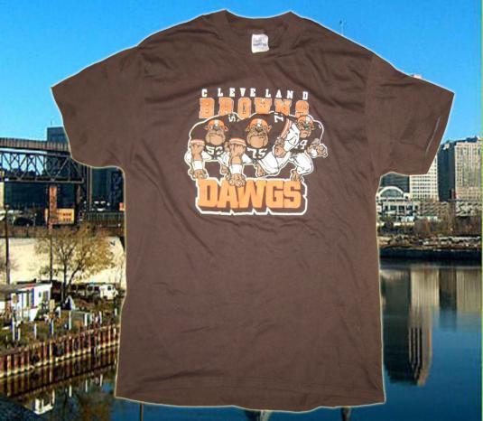 Vintage 1980's Cleveland Browns t-shirt
