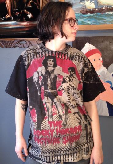 Vintage Rocky Horror Picture Show Mosquitohead Movie T Shirt