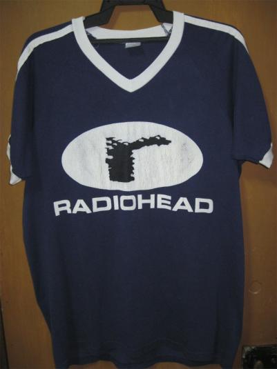 Pit Crew Shirts >> RADIOHEAD TOUR 1995 SHIRT