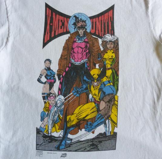 Pit Crew Shirts >> X-Men 90's Vintage T Shirt Unite Marvel Comics Wolverine