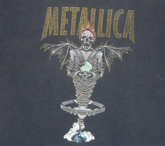 Metallica 1996 King Nothing Tour Vintage T Shirt Pushead Xl