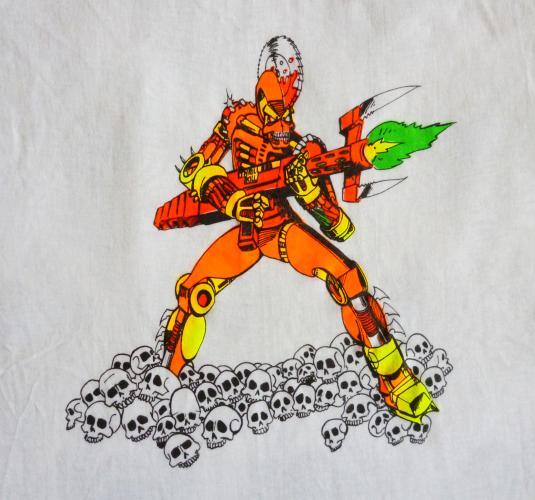 Thrill Kill 80 S Sci Fi Art Vintage T Shirt Deadstock Xl