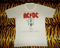1984 AC/DC EUROPE TOUR FLICK OF THE SWITCH