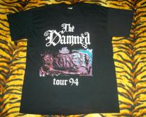 THE DAMNED 1994 UK TOUR