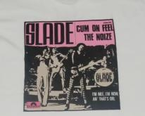 VINTAGE RARE DOUBLE SIDED SLADE AND SWEET T-SHIRT