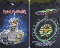 1984-85 Iron Maiden World Slavery Tour Thin