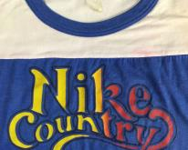 80s Nike Country Semi Wasted Blue & White