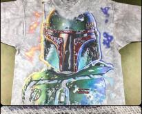 1997 Star Wars Boba Fett Tie Dye All-Over