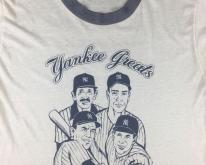 70s 80s New York Yankee Greats DiMaggio Yogi