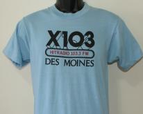 X103 radio station  light blue Screen Stars  S