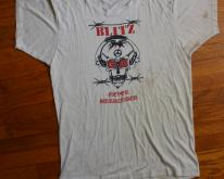 Blitz Never Surrender 1980s White