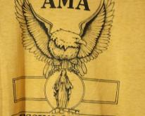AMA Blessing of Cycles 1982 with Eagle