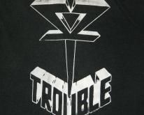 TROUBLE 1985 THE SKULL  Tour 80s Doom Metal