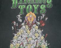 DANGEROUS TOYS 1989 TOUR  80s concert tee