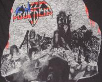 LIZZY BORDEN 1986 MENACE TO SOCIETY  80s tour