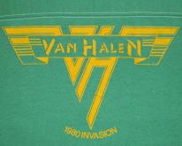 VAN HALEN SHOWCO 1980 INVASION CONCERT  80s