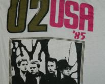 U2 1985 THE UNFORGETTABLE FIRE TOUR  concert