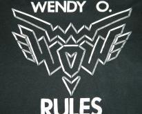 WENDY O. WILLIAMS RULES 80S  PLASMATICS tour