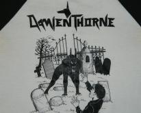 DAMIEN THORNE 1986 TOUR JERSEY  80S metal