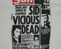 EDDIE ENZYME'S SID VICIOUS   80s the undead