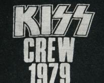 KISS 1979 CREW DYNASTY TOUR  70S CONCERT