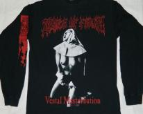 VESTAL MASTURBATION CRADLE OF FILTH L/S  90s
