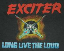 EXCITER 1985 WORLD TOUR  XL 80s speed metal