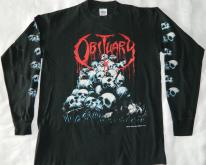 OBITUARY 1991 LONG SLEEVE XL