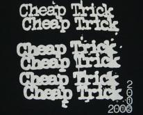 CHEAP TRICK 1988 LAP OF LUXURY TOUR  80s S