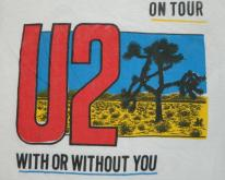 U2 1987 THE JOSHUA TREE TOUR  concert