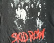 SKID ROW 1989 YOUTH GONE WILD  tour
