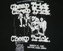 CHEAP TRICK CREW 1981  80s concert