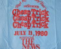 CHEAP TRICK JULY 11, 1980 SECURITY CONCERT