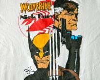WOLVERINE NICK FURY 80S  X-MEN 80S COMIC BOOK