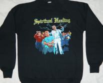 NOS DEATH SWEATSHIRT 1990 SPIRITUAL HEALING TOUR 90s