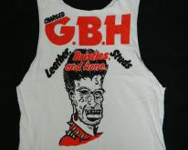 80S CHARGED G.B.H.  gbh punk rock band tour